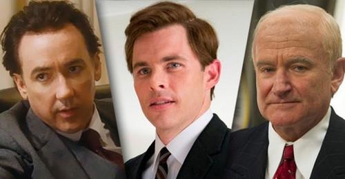 De gauche à droite : Nixon, Kennedy et Eisenhower. Avouez ça ne saute pas aux yeux !