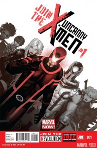 couverture d'Uncanny X-men #1
