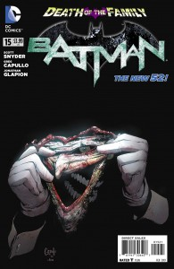 Coverture de Batman #15