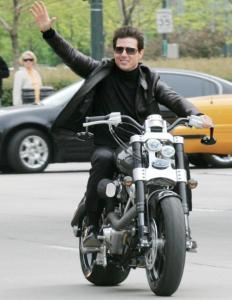 Trouvez moi un film où il n'est pas à moto et vous aurez un biscuit !