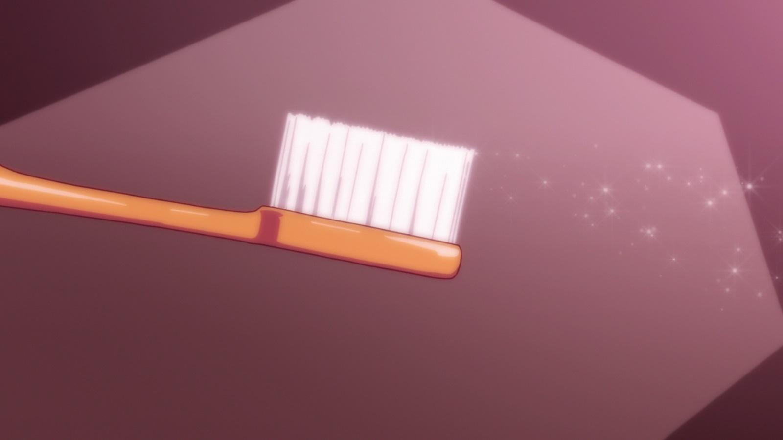 Cette brosse à dents et la brosse à dents qui va transpercer vos zygomatiques