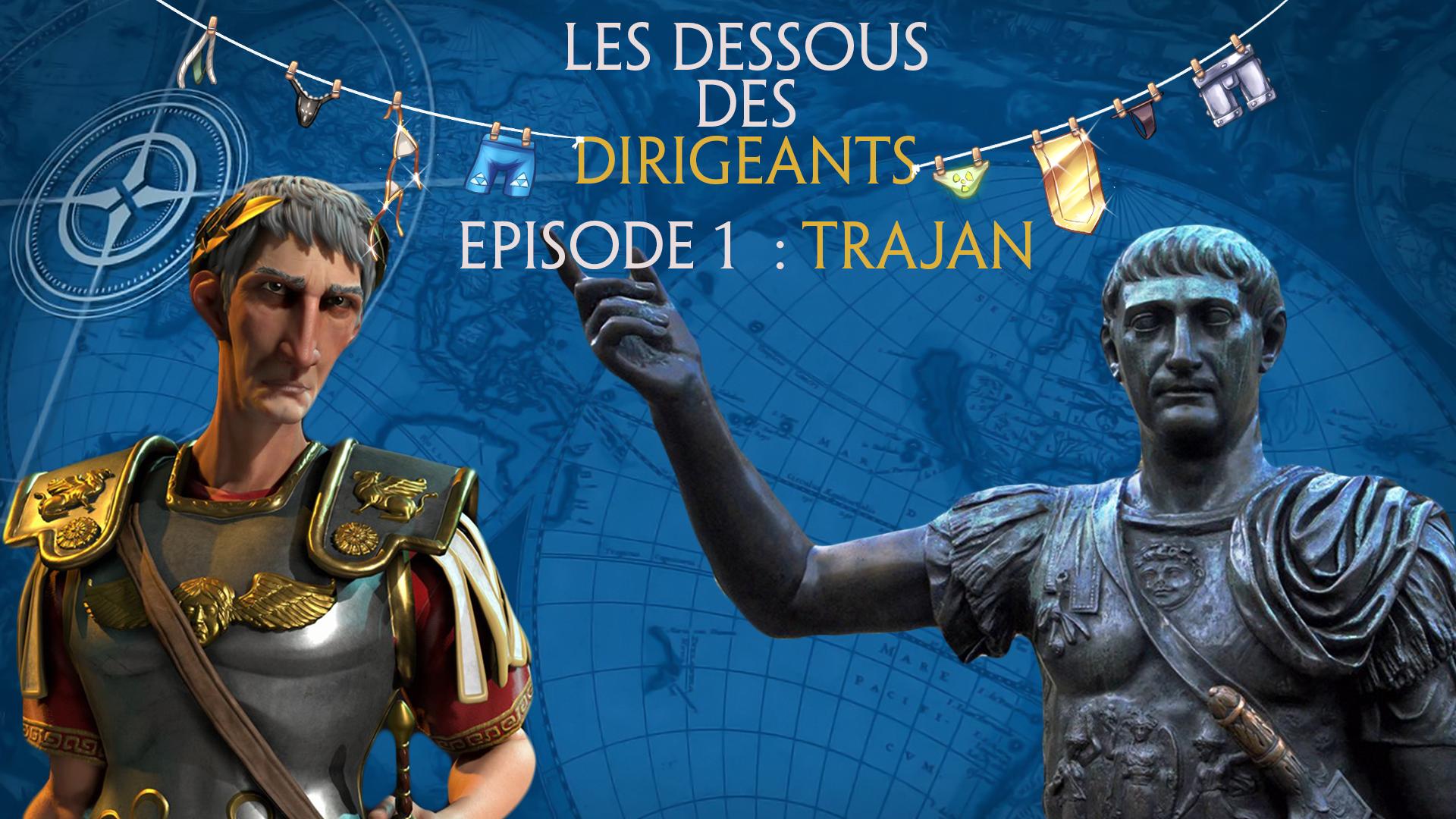 buy online cca22 566ae Vidéo] Les Dessous Des Dirigeants #1 : Trajan | La colonie ...